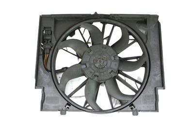 Czarny plastikowy wentylator do BMW 5 E60 3.0d 7789824