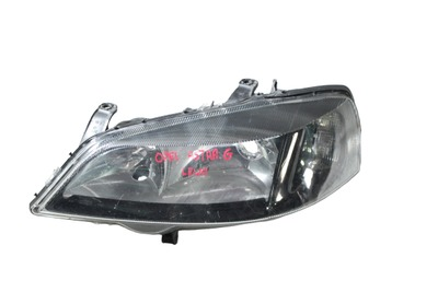 Srebrna lampa lewa przednia do Opla Astry G 13132459