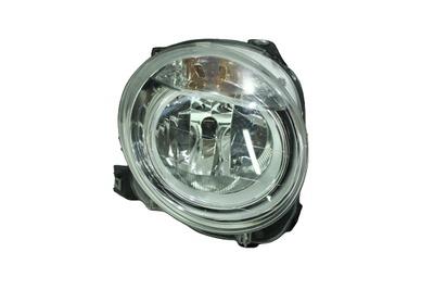 Srebrna prawa przednia lampa do Fiata 500 51787491