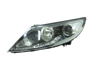 Czarna lewa przednia lampa do Kia Sportage III 92101-3WXXX