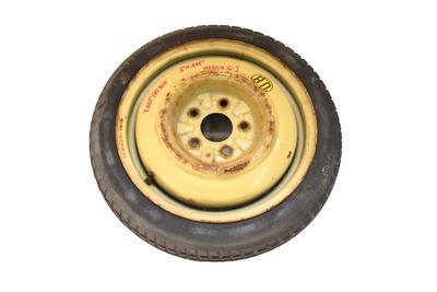 Żółte koło dojazdowe  do Mazdy 6 I Koło dojazdowe zapasowe Mazda 6 I 5x114,3 T115/70R15