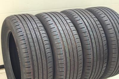 Czarne gumowe opony letnie Continental 205/55R16 91H