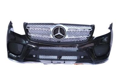 Czarny kompletny zderzak przedni Mercedes GLS A166 AMG 197