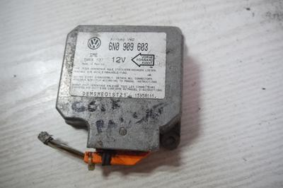 Sterownik sensor AIRBAG Polo 96- 6N0909603