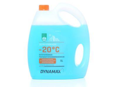 Niebieski zimowy płyn do spryskiwaczy Dynamax