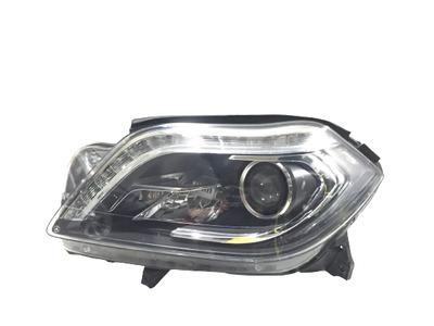 Srebrna lampa lewa przednia do Mercedes-Benz GL X166 A1668204059