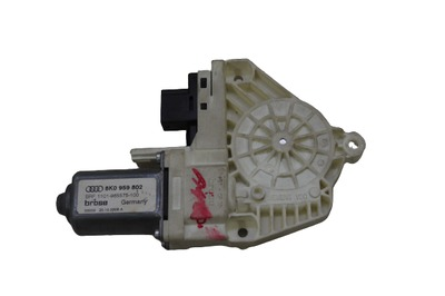 Biały silniczek podnoszenia szyby do Audi A4 B8 8K0959802