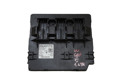 Czarny moduł komfortu do VW Golfa VI 1.4 TSI 5K0937086C