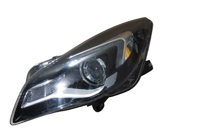 Srebrna lampa lewa przednia do Opel Insignia A Lift LED 39031207