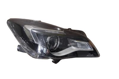 Srebrna lampa prawa przednia do Opel Insignia A Lift Led soczewka 39031208