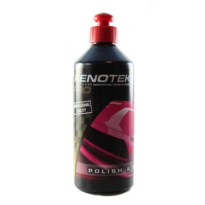 Wosk do nabłyszczania oraz konserwacji lakieru samochodowego Kenotek polish&wax pro wosk w płynie