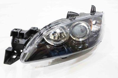plastikowy reflektor przedni lewy do mazdy 3