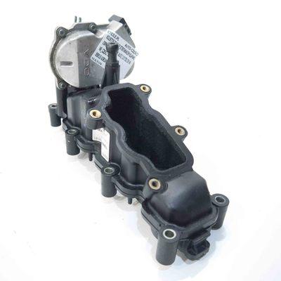 plastikowy kolektor ssący prawy ze sterowaniem klapami do Audi A6 C6 3.0 TDI 059129712P