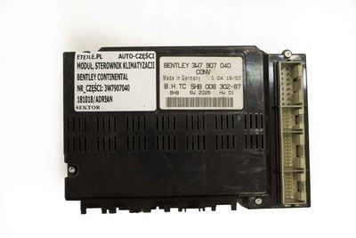 moduł sterowania klimatyzacji do Bentleya Continental 3W7907040