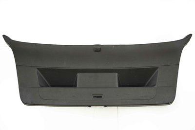czarna tapicerka pokrywy bagażnika do Volkswagena Golfa VI