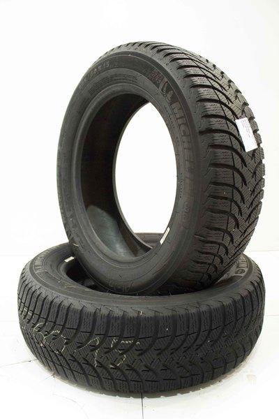 czarne używane Opony zimowe 2 szt Michelin Alpin A4 185/60R15 88T 5.2mm 2011R