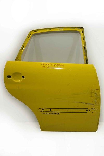 zółte drzwi prawe tylne do seata ibizy III 6l4