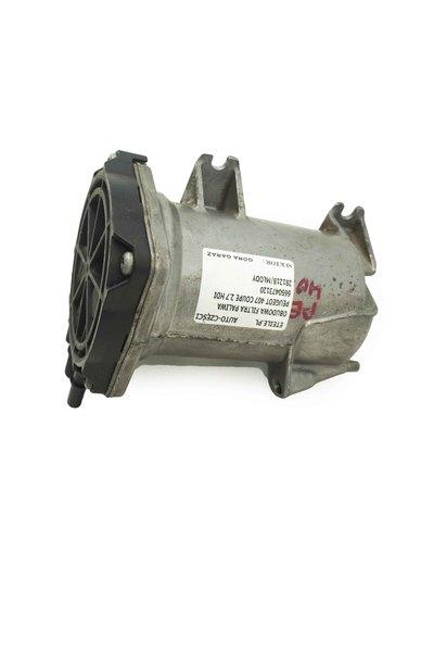 Metalowa srebrna obudowa filtra paliwa do Peugeot 407 607 Ctroen C5 2.7 HDI z numerem części : 6650473120