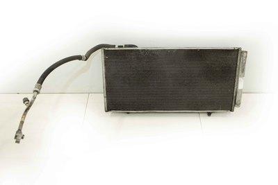 Srebrna aluminowa chłodnica klimatyzacji do Subaru Legacy IV z silnikiem 2.0d