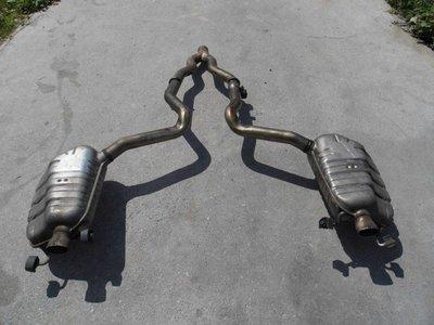 Tłumik układu wydechowego do Mercedesa E Klasa W207