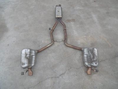 Tłumik wydechowy do Mercedesa CLS W218 CLS400 benzyna A2184900601
