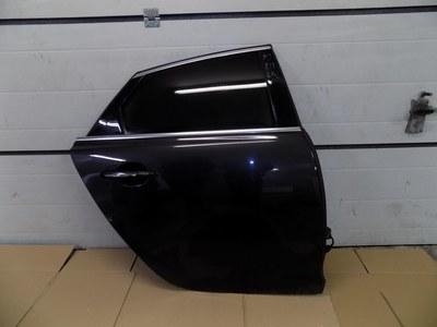 Czarne prawe tylne drzwi do Jaguara XJ IV X351 kompletne