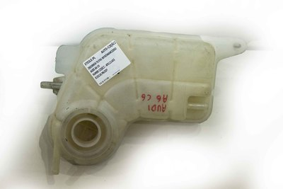 Biały plastikowy zbiorniczek wyrównawczy płynu chłodniczego do Audi A6 C6 z numerem części : 4F0121403