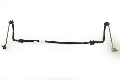 Czarny metalowy drążek stabilizatora do VW Polo IV z numerem części : 6Q0411303AC