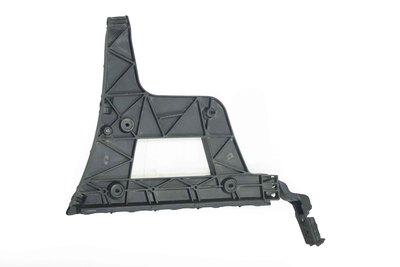 Czarny plastikowy ślizg zderzaka lewy tylny do Audi A4 B8 z numerem części : 8K9807453