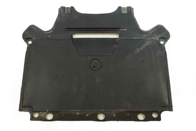 Czarna plastikowa osłona pod skrzynię biegów do Audi A4 B8 z numerem części : 8K1863822L