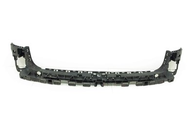 Czarny plastikowy ślizg zderzaka tył tylny do Audi A4 B8 z numerem części : 8K9807385F