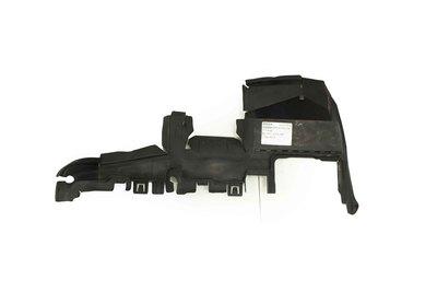 Czarna plastikowa kierownica powietrza do Audi A4 B8 z numerem części : 8T0121283G