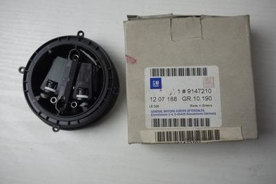 Czarny plastikowy silniczek lewego lusterka zewnętrznego do Opla Omegi B 9147210