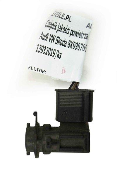 Czarny czujnik jakości powietrza do Audi A4 B8 z numerem części : 8K0907659A