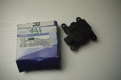 Czarny plastikowy silniczek nagrzewnicy do Kia Sportage III 97161-1JAA0
