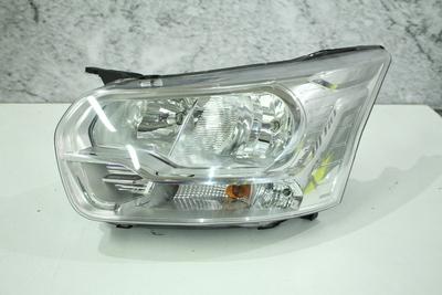 Srebrna lampa lewa przednia do Forda Transit Mk VIII Europa