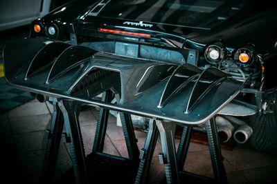 Dyfuzor tylnego zderzaka do Ferrari F430 wykonany z włókna węglowego (Carbon)