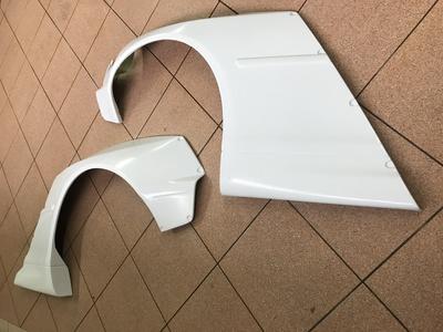 poszerzenia tylnych błotników wide body kit do BMW 3 E46 pandem