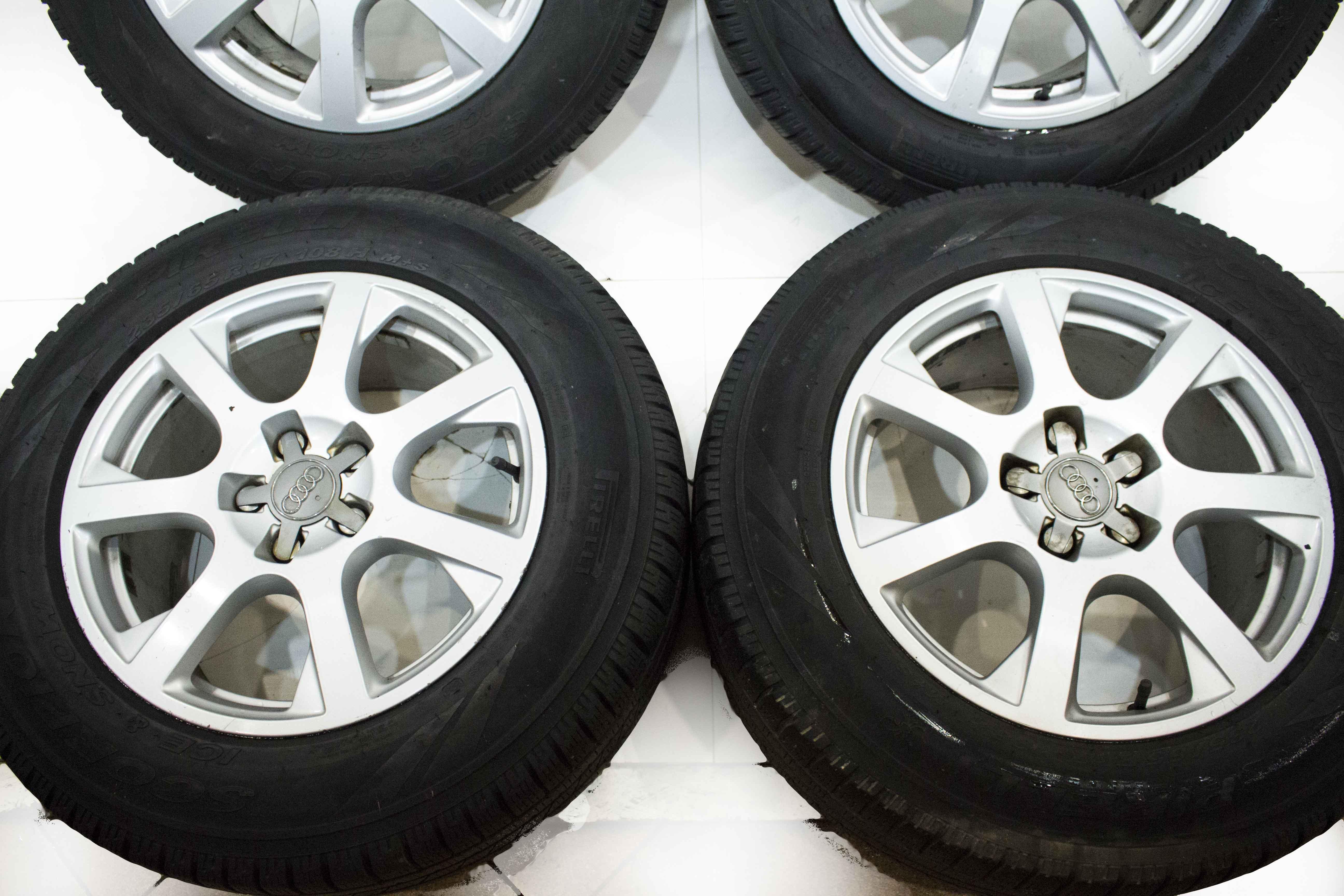Koła Alufelgi Audi Q5 A6 A4 5x112 E8jx17h2 Et39 Pirelli Scorpion Ms