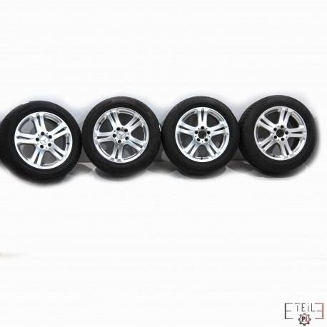 Koła Felgi Mercedes S Klasa W221 23555r17 Opony Zimowe 5x112