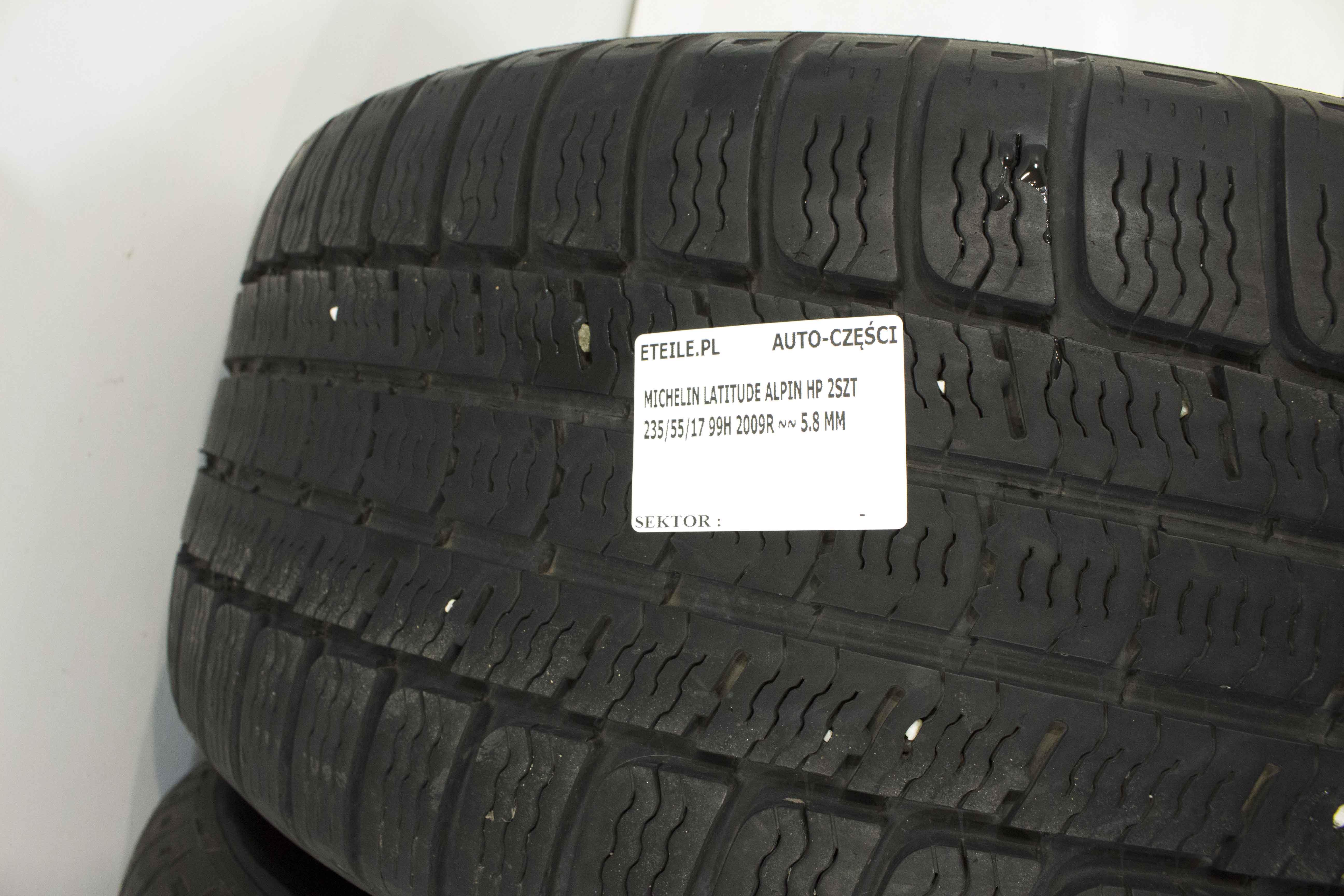 Opony Zimowe 235 55 R17 Michelin